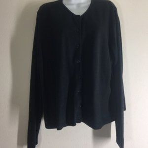 All Points by Reference Pointe Black Button Down C